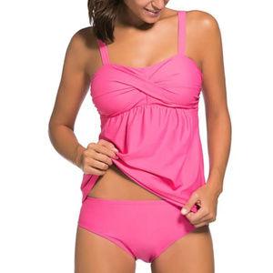 Other - ***NIP*** Swing Tankini Pink Swimsuit Size L 10-12